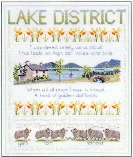 Lake District Cross Stitch Kit